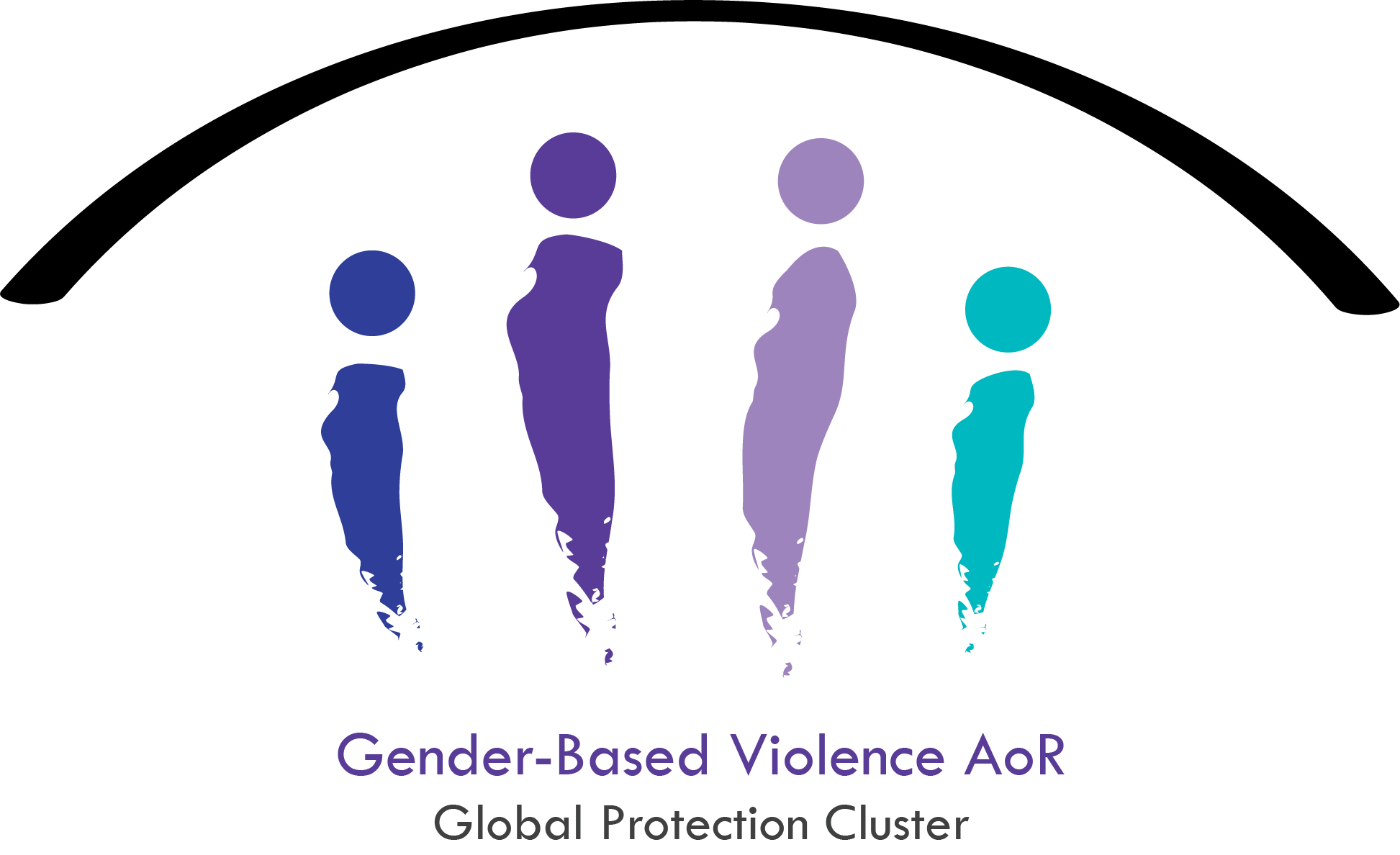 GBV-AoR logo, Gender-Based Violence Area of Responsibility
